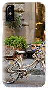 Florence Bicycle  IPhone Case