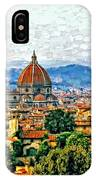 Florence Watercolor IPhone Case