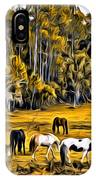 Florida Horses Two IPhone Case