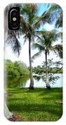 Florida Lake IPhone Case
