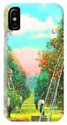 Florida Orange Pickers 1920 IPhone X Case