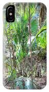 Florida Palmetto Bush IPhone Case