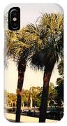Florida Trees 2 IPhone Case