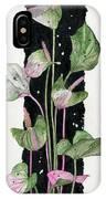 Flower Anthurium 02 Elena Yakubovich IPhone Case