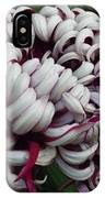 Flower Basket With Purple Texture IPhone Case