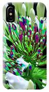 Flower Bunch Bush Sensual Exotic Valentine's Day Gifts IPhone Case