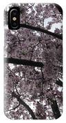 Flower Canopy And Sky IPhone Case