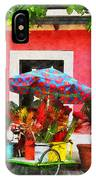 Flower Cart San Juan Puerto Rico IPhone Case