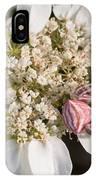 Flower Crab Spider IPhone Case