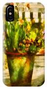 Flower - Daffodil - A Pot Of Daffodil's IPhone Case