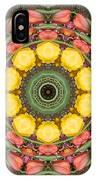 Flower Drum IPhone Case