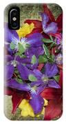 Flower - Garden Joy - Luther Fine Art IPhone Case