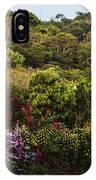 Flower Garden On A Hill IPhone Case