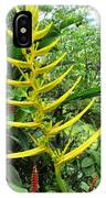 flower Helicnia IPhone Case