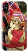 Flower Hmong Baby 01 IPhone Case