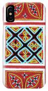 Flower Hmong Embroidery 01 IPhone Case