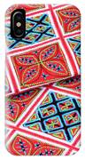 Flower Hmong Embroidery 02 IPhone Case