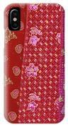 Flower Hmong Velvet IPhone Case