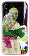 Flower Hmong Wool Stall IPhone Case