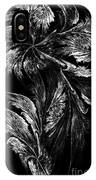 Flower In Black-and-white IPhone Case