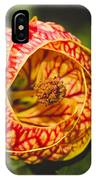 Flower In Red And Yellow  IPhone Case