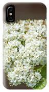Flower In The Spotlight IPhone Case