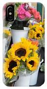 Flower Market  IPhone Case