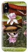 Flower Of Victoria Cruziana IPhone Case