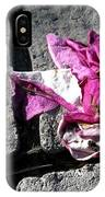 Flower On Stone IPhone Case