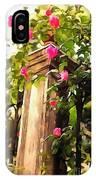 Flower Post IPhone Case