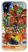 Flower Pot IPhone X Case