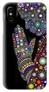 Flower Prayer Girl IPhone Case