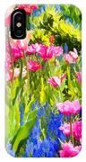 Flower Splash II IPhone Case