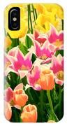 Flower Splash Ix IPhone Case