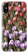 Flower Splash Vi IPhone Case