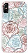 Flower Squiggle IPhone X Case