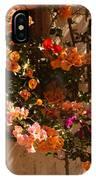 Flower Trellis In La Jolla IPhone Case