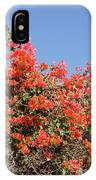 flower wall in Madagascar IPhone Case