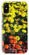 Flowerbed Of Narcissuses IPhone Case
