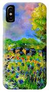 Flowered Village IPhone Case