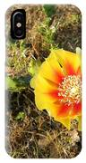 Flowering Cactus IPhone Case