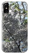 Flowering Cherry - White IPhone Case