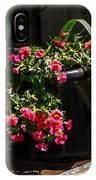 Flowering Coffee Pot IPhone Case