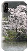 Flowering Tree At The Pond IPhone Case