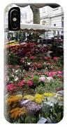 Flowermarket - Tours IPhone Case