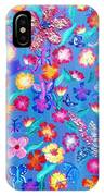 Flowers And Butterflies IPhone Case