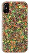 Flowers And Foliage  IPhone Case