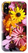 Flowers And Shadow IPhone Case