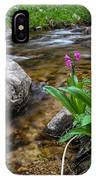 Flowers And Stream IPhone Case