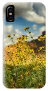 Flowers Are Food For The Soul  IPhone Case